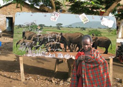 Elles and Masai Boy